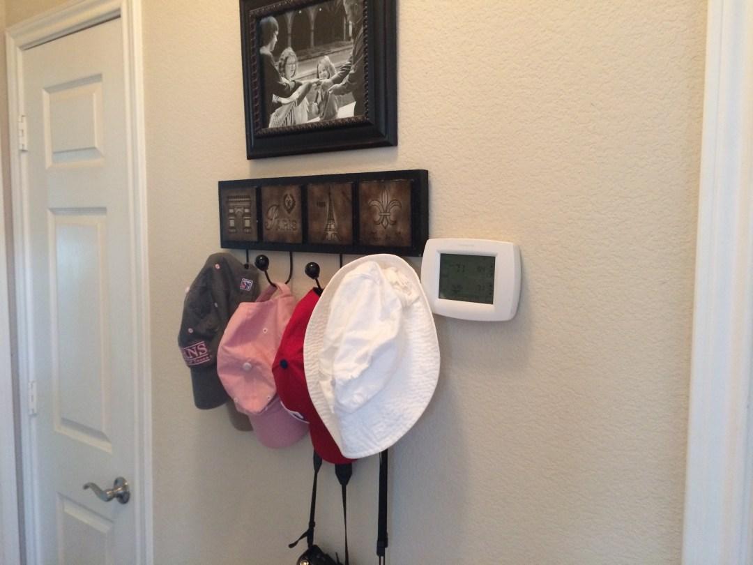 eliminate hallway clutter