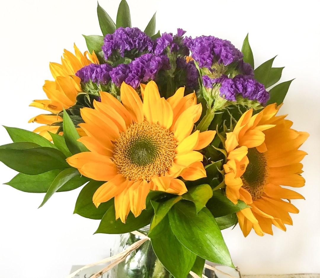 Mason Jar Flower Arrangement 4