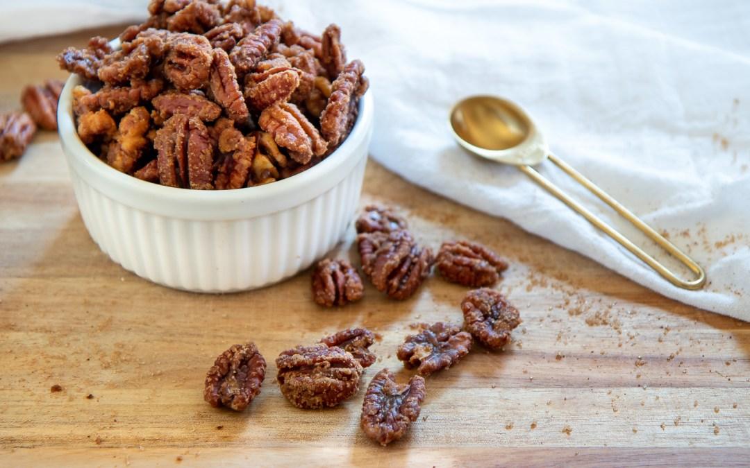 BROWN SUGAR CINNAMON SPICED NUTS