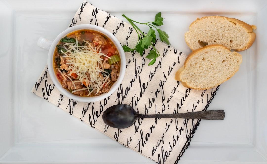 Hearty soup recipes.