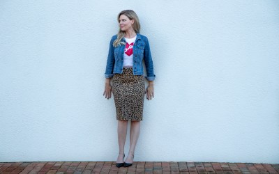 WORKING A LEOPARD SKIRT INTO YOUR WARDROBE