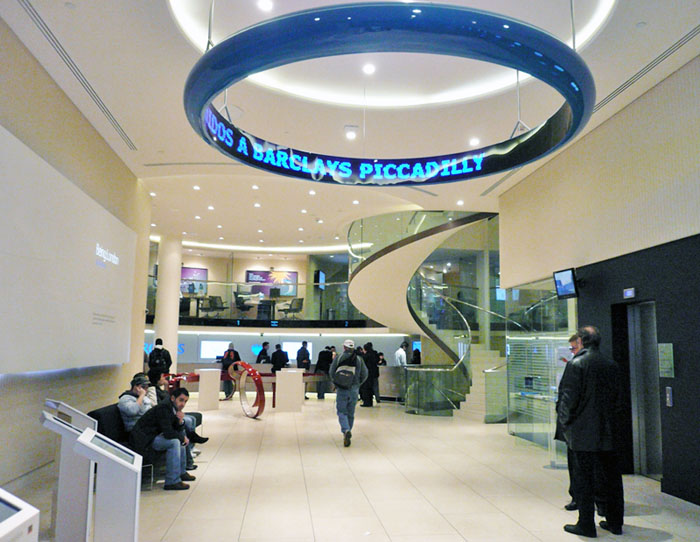 Barclays Piccadilly Circus