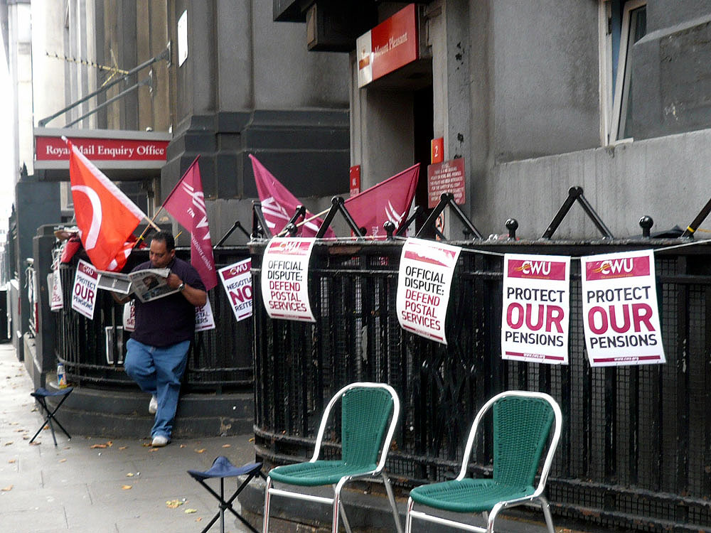 Postal Strike @ Mount Pleasant