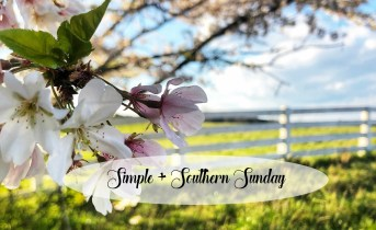 Simple + Southern Sunday