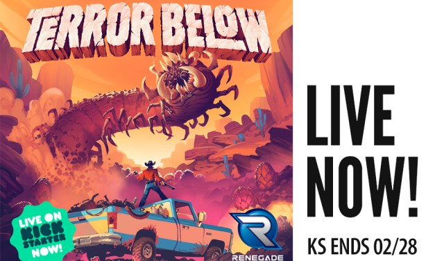 Terror Below Live Now!