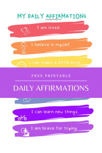 Daily Affirmation for Boys