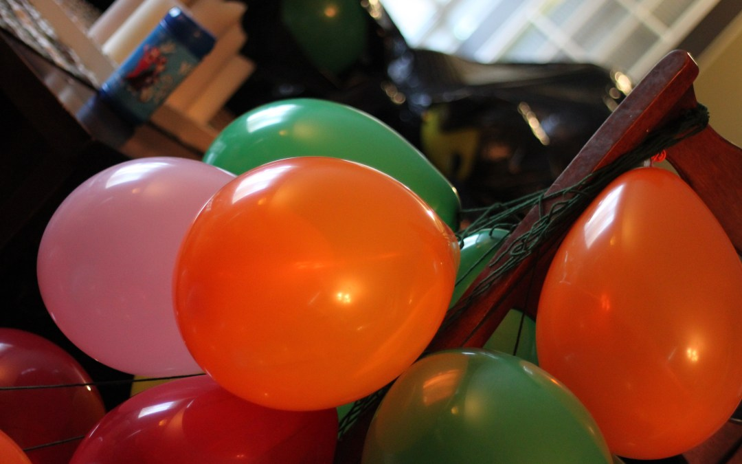 How to transport 216 inflated balloons