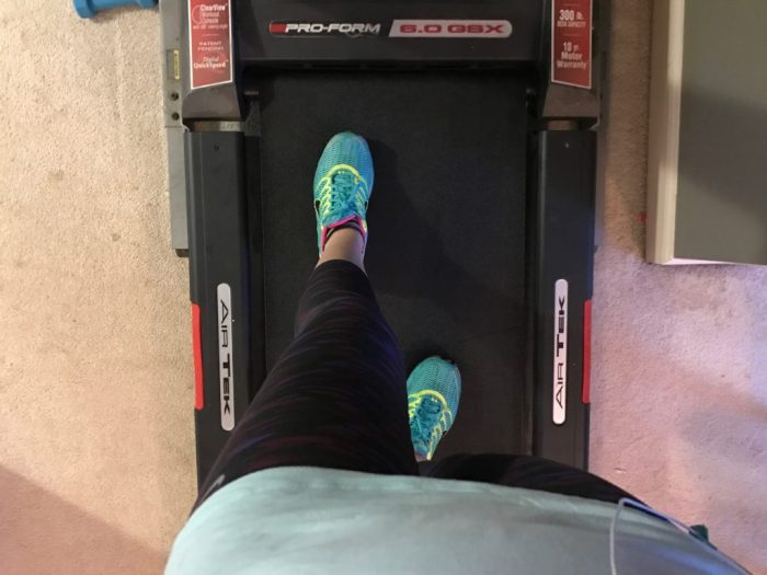 Getting back on the treadmill: because sometimes it's OK to start over