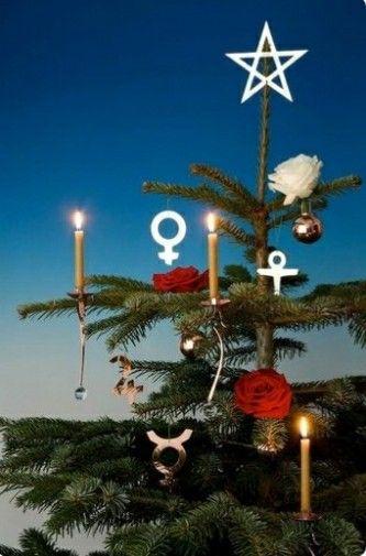 Antroposofische Kerstboom