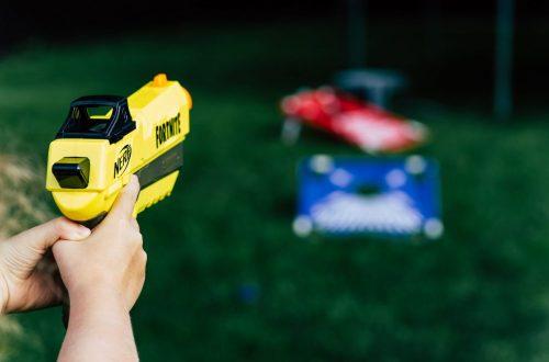 Schieten met pistolen vrijeschool