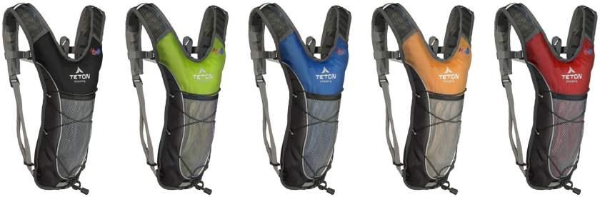 Teton Hydration Backpack Colors
