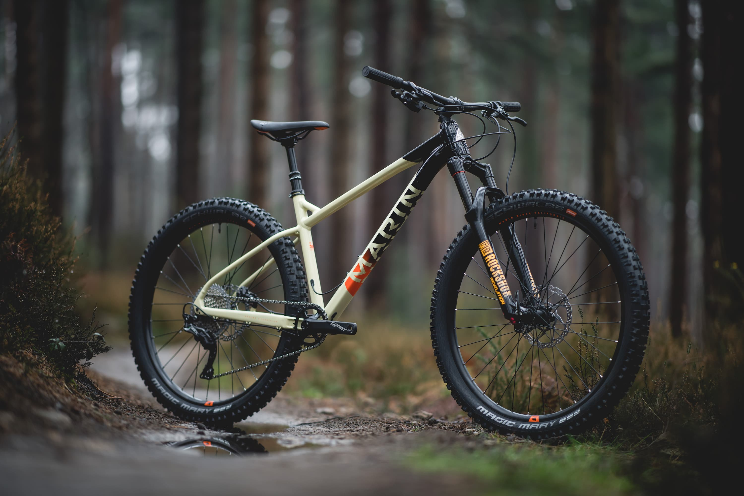 """New From Marin an """"Aggressive Hardtail"""" – The San Quentin"""