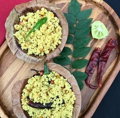 Foxtail millet lemon rice