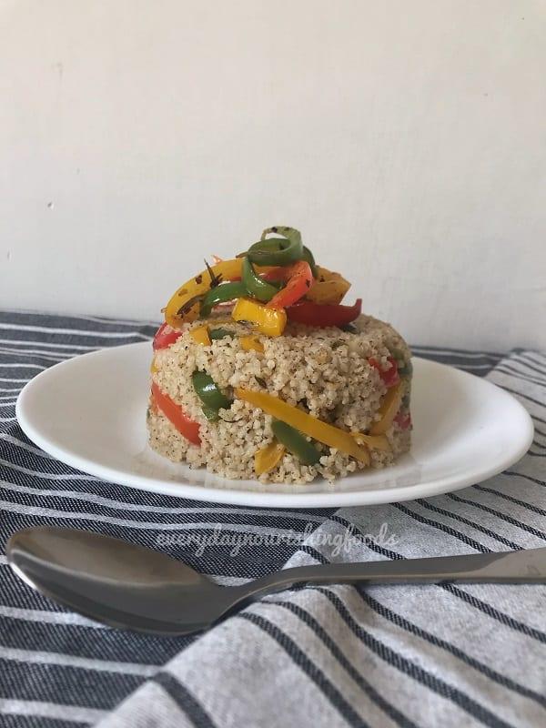 little millet capsicum rice