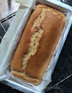 Passionfruit eggless cake steps