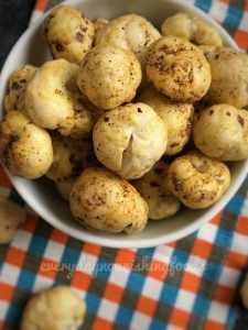 Roasted Makhana recipe
