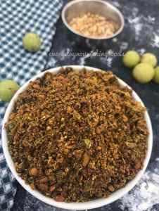 Amla dry chutney powder recipe