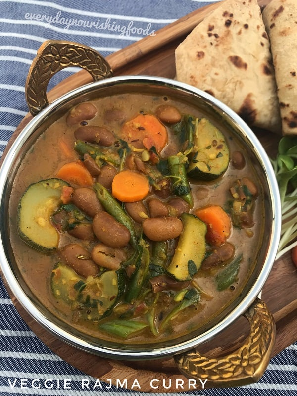 vegetable rajma curry