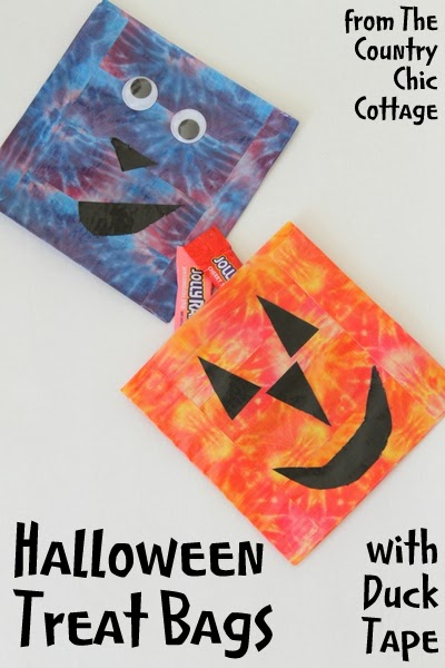 DIY Halloween Treat Bags made with Duck Tape-005