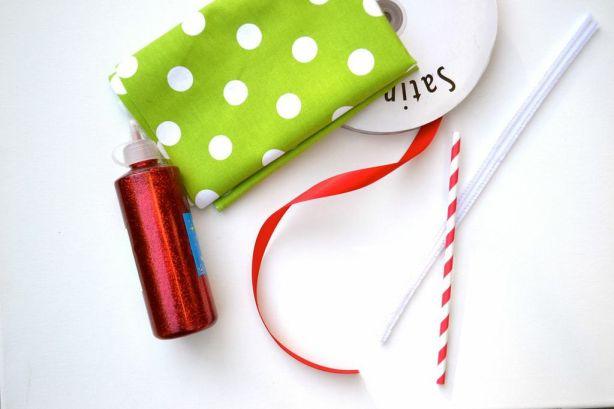 Everyday Party Magazine DIY Joy Mini Bunting Supplies