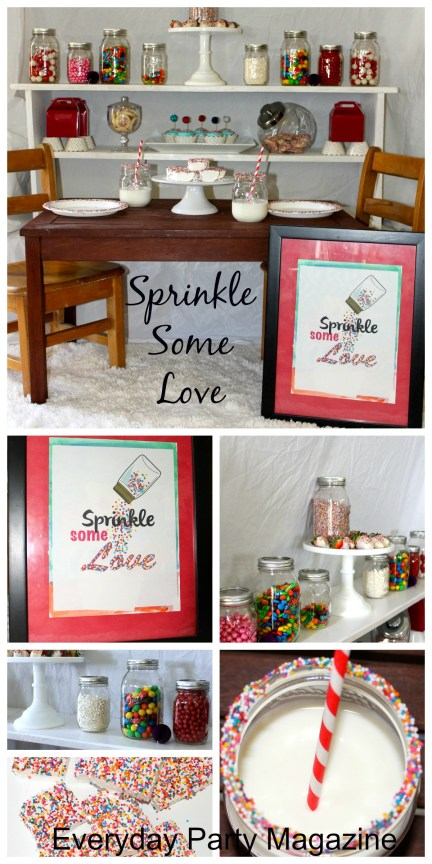 Valentine's Day Sprinkle Some Love ~ Everyday Party Magazine