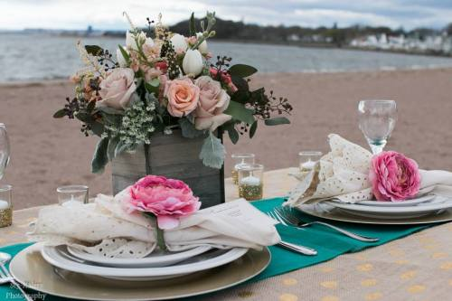 Everyday Party Magazine Beach Wedding inspiration by The Party Designers