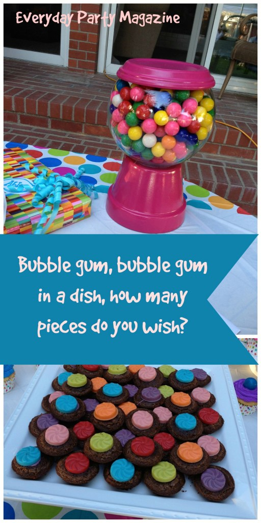Everyday Party Magazine Bubble Gum Party