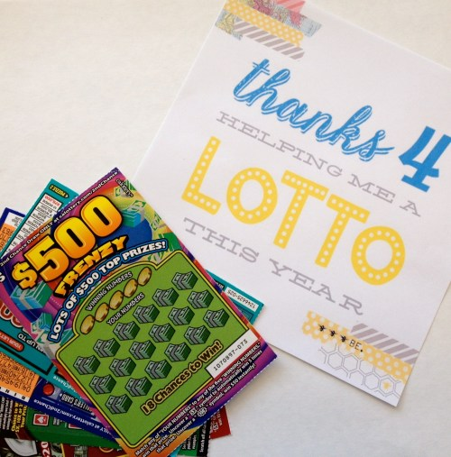 Everyday Party Magazine Thanks 4 teaching me a LOTTO