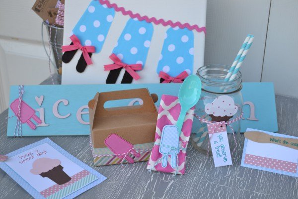 Everyday Party Magazine Decor DIY using Sizzix Big Shot
