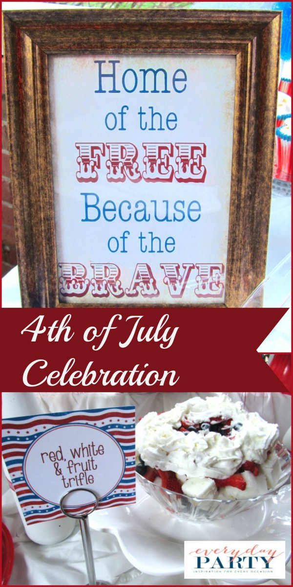 Everyday Party Magazine 4th of July Celebration by Creating Awesomenessity