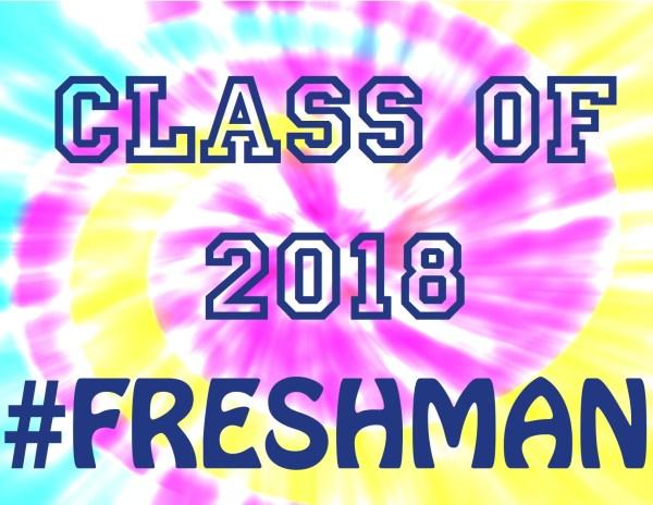 Everyday Party Magazine #FRESHMAN Tie Dye #high school printables