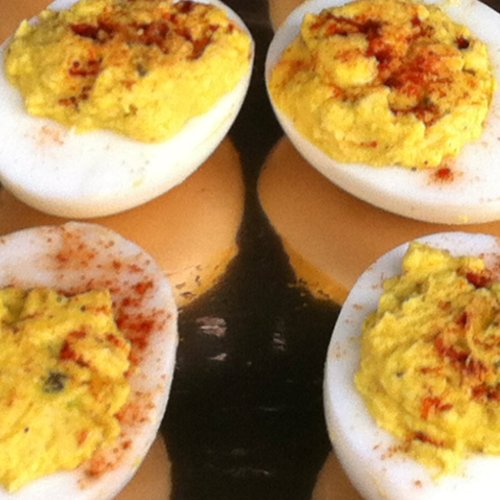Everyday Party Magazine Easy Deviled Egg Recipe by Hatchett Events