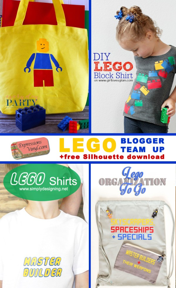 Expressions Vinyl Lego Pack Everyday Party Magazine  Collage Image
