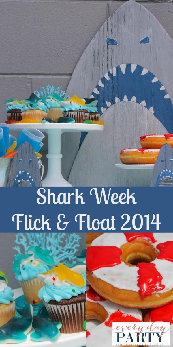 Everyday Party Magazine Shark Week Party 2014
