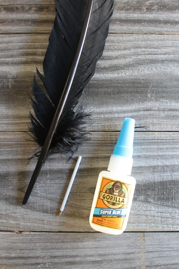 Everyday Party Magazine Harry Potter Inspired Quill DIY