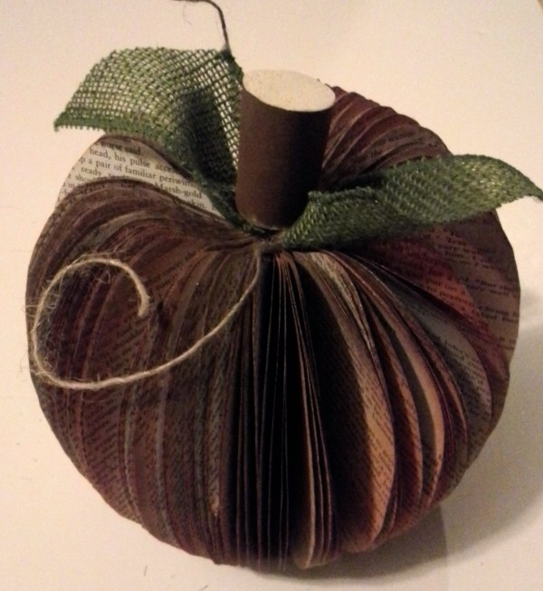Everyday Party Magazine Simple Paperback Pumpkin DIY by My Thrifty Sister