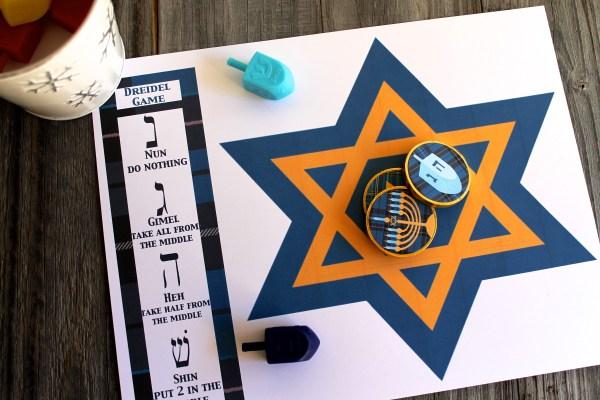 Everyday Party Magazine Hanukkah Dreidel Game