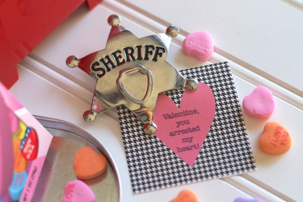 Valentine, You Arrested My Heart Everyday Party Magazine Free printables