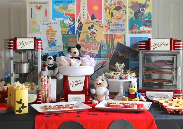 Disney Side at Home Celebration Everyday Party Magazine