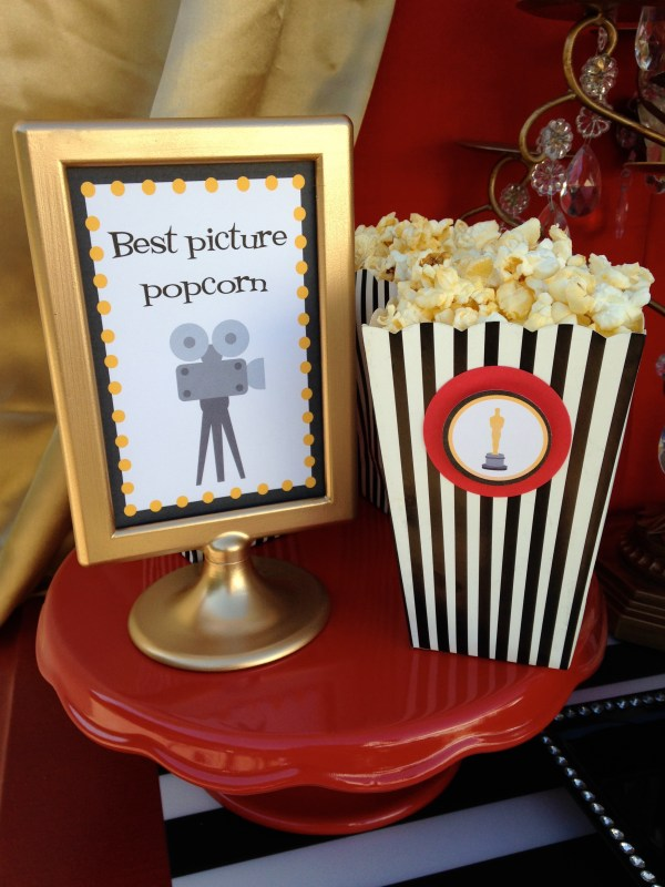 Oscar Party by LAURA'S little PARTY Everyday Party Magazine