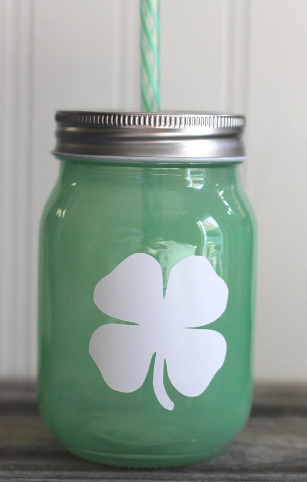 Cocoa Mint Coffee Creamer & St. Patrick's Day Mason Jar Mug DIY Everyday Party Magazine