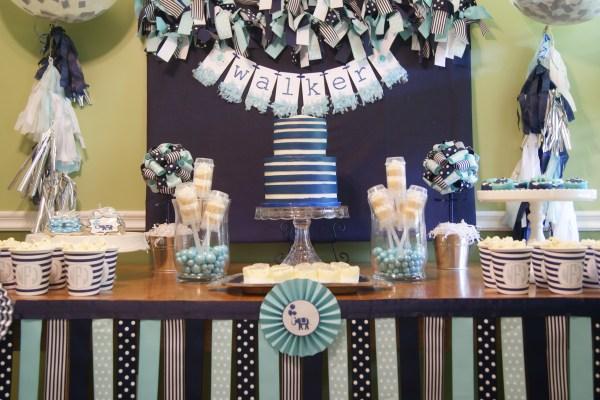 Everyday Party Magazine Baptism and Dedication by Sweet Georgia Sweet Everyday Party Magazine