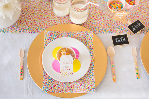 Confetti and Sprinkles Baby Shower on Everyday Party Magazine