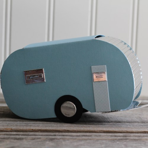 Travel Trailer Favor Box for Sizzix on Everyday Party Magazine