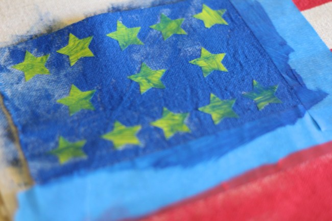 Everyday Party Magazine Flag Inspired Napkin