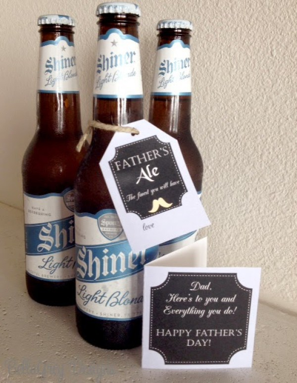 Father's Day Card and Tags by Bella Grey Designs on Everyday Party Magazine