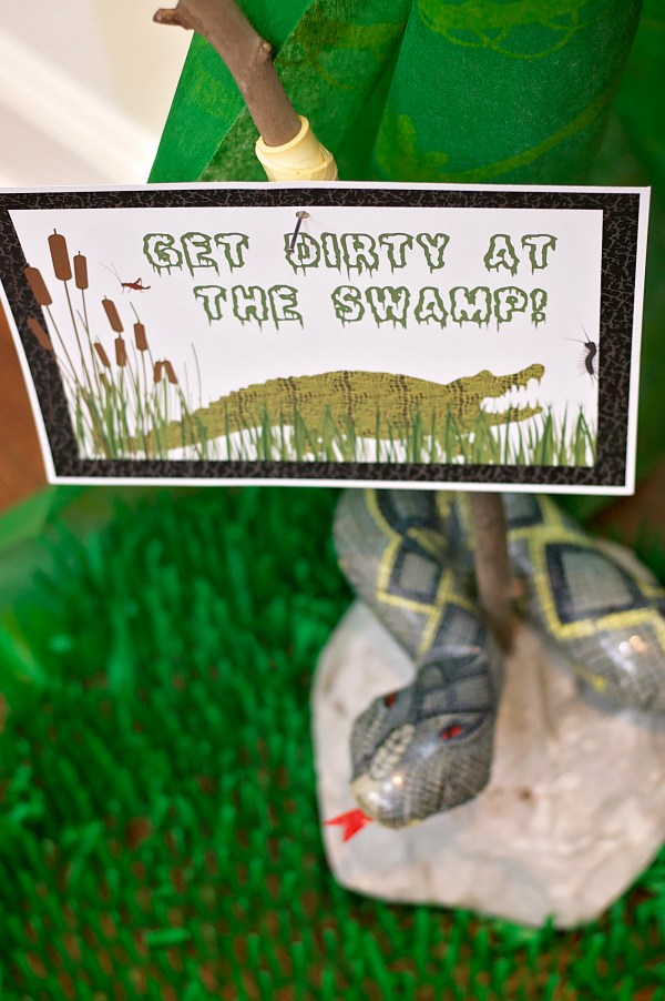 Swamp Birthday Party by The Party Designers Inc on Everyday Party Magazine