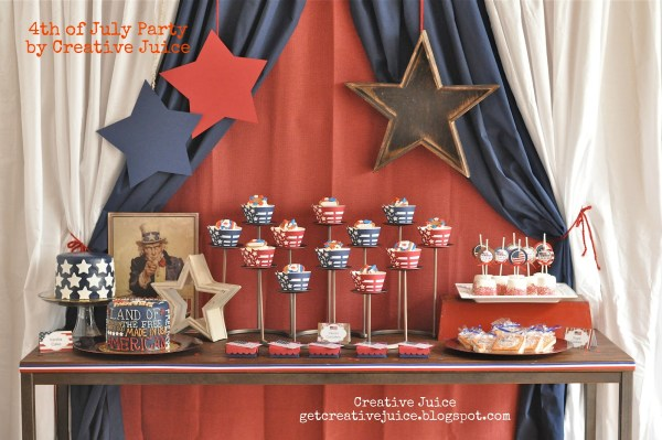 Patriotic Celebration by Creative Juice on Everyday Party Magazine