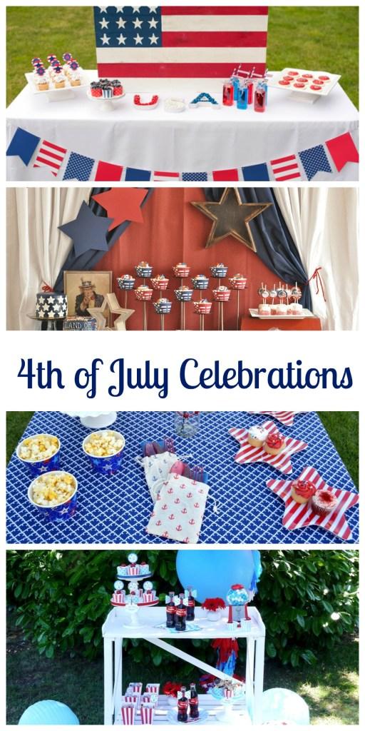 4th of July Celebrations on Everyday Party Magazine