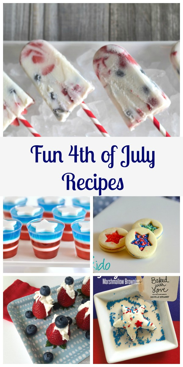 Fun 4th of July Recipes on Everyday Party Magazine